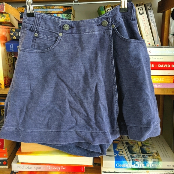 90s denim skorts | size 8 | retro Just Jeans